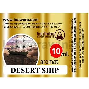 Inawera tino d\'milano e-aromat DESERT SHIP 10ml (nº10)