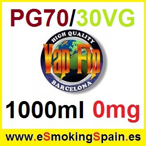 1000ml Base Vap Fip 70%PG / 30%VG 0mg