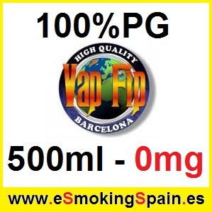 500ml Base Vap Fip 100% PG 0mg