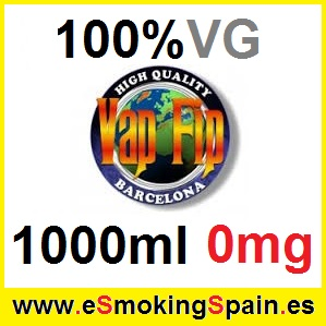 1000ml Base Vap Fip 100% VG 0mg