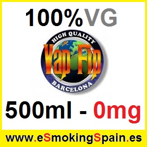 500ml Base Vap Fip 100% VG 0mg