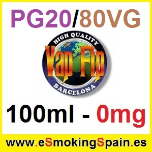 100ml Base Vap Fip 20%PG / 80%VG 0mg
