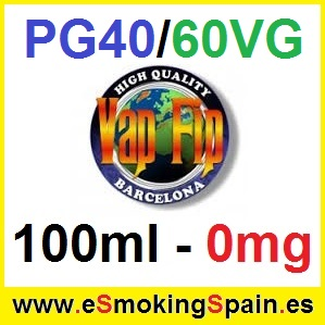 100ml Base Vap Fip 40%PG / 60%VG 0mg