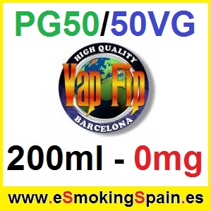 200ml Base Vap Fip 50%PG / 50%VG 0mg