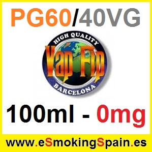 100ml Base Vap Fip 60%PG / 40%VG 0mg