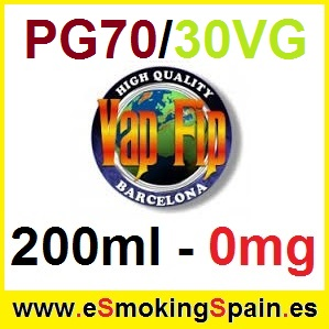 200ml Base Vap Fip 70%PG / 30%VG 0mg