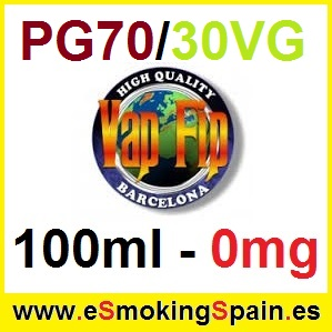 100ml Base Vap Fip 70%PG / 30%VG 0mg
