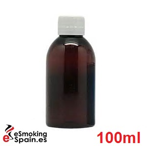 Botella Ámbar B-PET 100ml