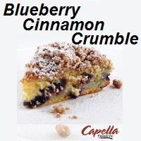 Aroma Capella Blueberry Cinnamon Crumble 10ml (nº19)
