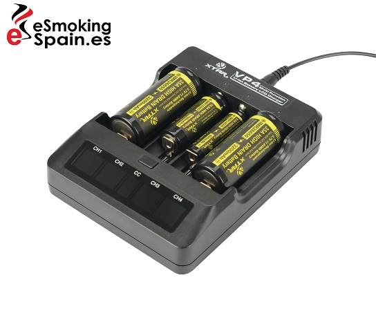 Battery Charger XTAR VP4