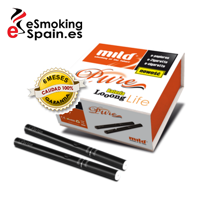 Electronic Cigarette Mild Pure Black (double)