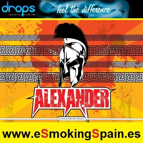 Eliquid Drops Conquerors Alexander 30ml