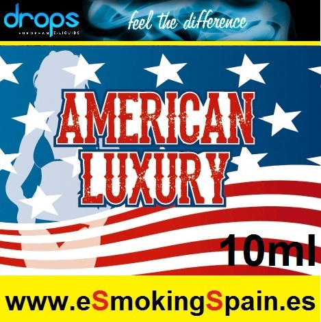 Eliquid Drops American Luxury 10ml