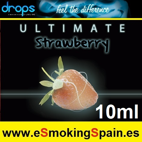 Eliquid Drops Ultimate Strawberry 10ml
