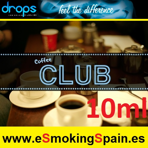 Eliquid Drops Caffee Club 10ml