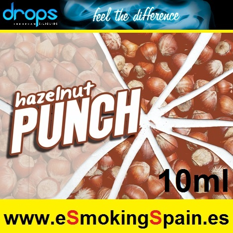 Eliquid Drops Hazelnut Punch 10ml