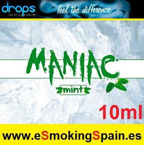 Eliquid Drops Maniac Mint10ml