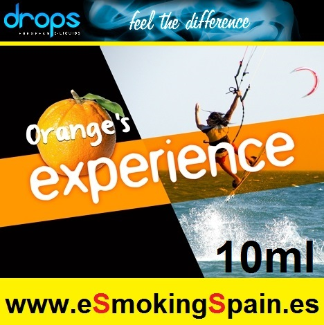Eliquid Drops Orange's Experience 10ml