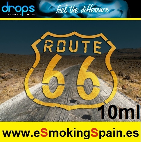 Eliquid Drops Route 66 10ml