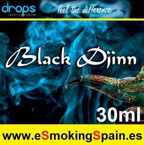 Eliquid Drops Black Djinn 30ml