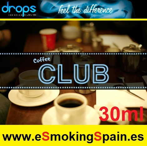 Eliquid Drops Caffee Club 30ml