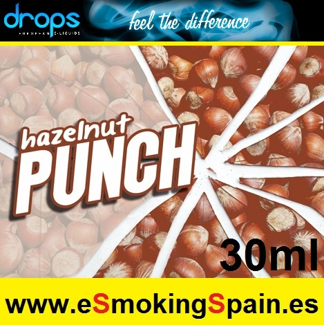 Eliquid Drops Hazelnut Punch 30ml