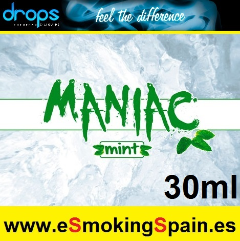 Eliquid Drops Maniac Mint 30ml