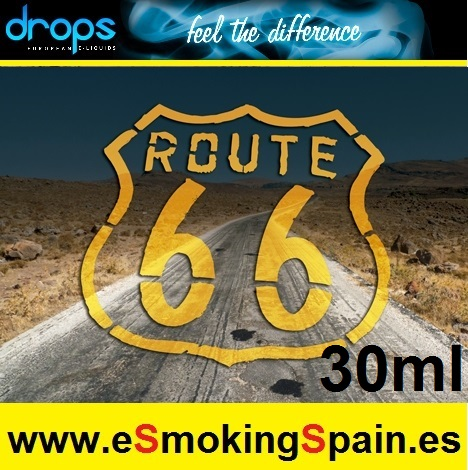 Eliquid Drops Route 66 30ml
