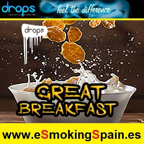 Eliquid Drops Artisans Selection Great Breakfast 30ml