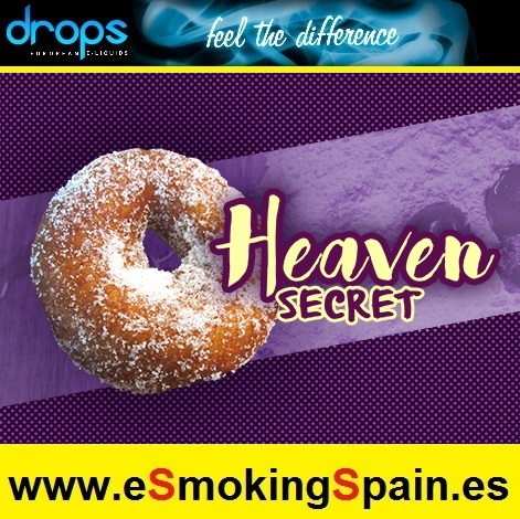 Eliquid Drops Artisans Heaven Secret (Donut) 30ml