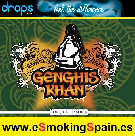Eliquid Drops Conquerors Genghis Khan 30ml
