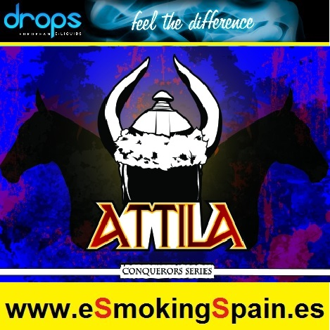 Eliquid Drops Conquerors Attila 30ml