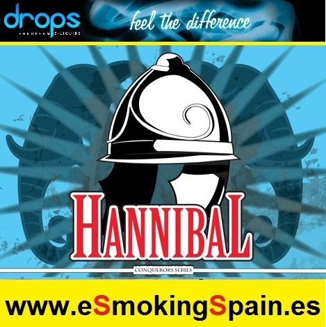 Eliquid Drops Conquerors Hannibal 30ml