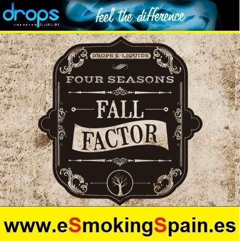 Eliquid Drops Four Seasons Fall Factor 30ml