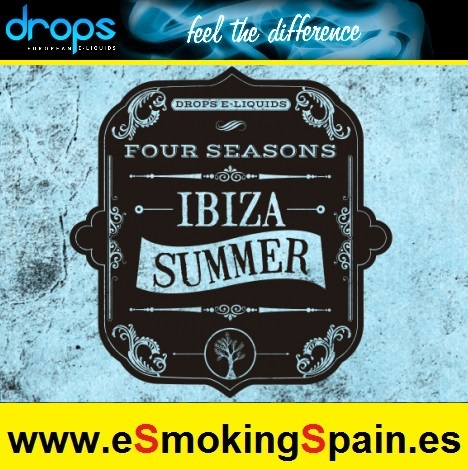 Eliquid Drops Four Seasons Ibiza Summer 30ml