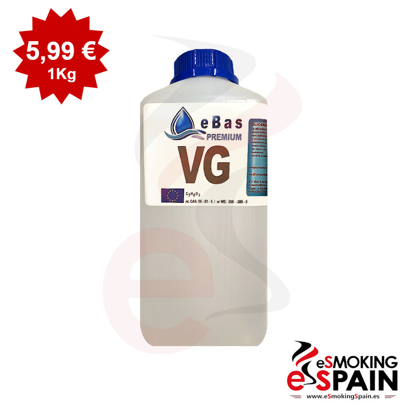 eBas Premium (VG) 1kg Vegetable Glycerine