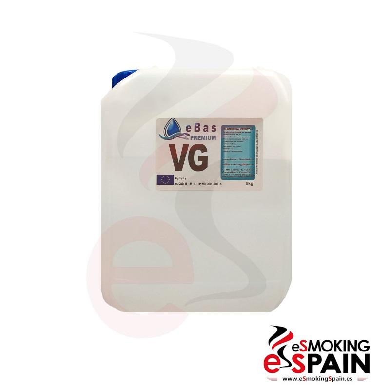 eBas Premium (VG) 5kg Vegetable Glycerine