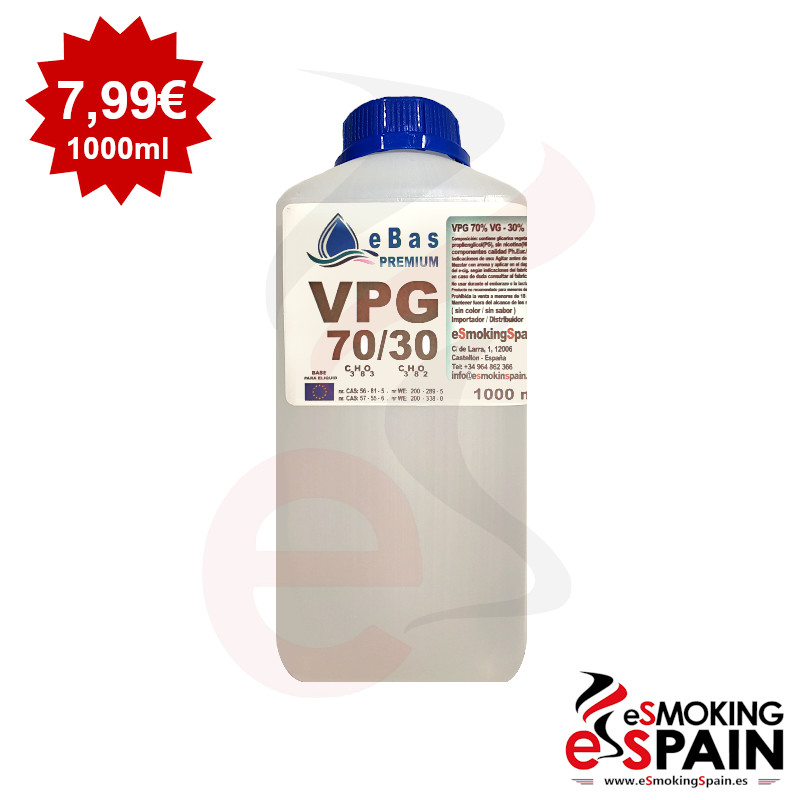 "eBas Premium VPG 70VG/30PG 1L <img src=""includes/languages/english/images/buttons/icon_newarrival.gif"" border=""0"" alt=""New : eBas Premium VPG 70VG/30PG 1L"" title="" New : eBas Premium VPG 70VG/30PG 1L "">"
