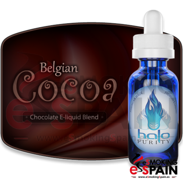 eLiquid HALO Belgian Cocoa 30ml 00mg