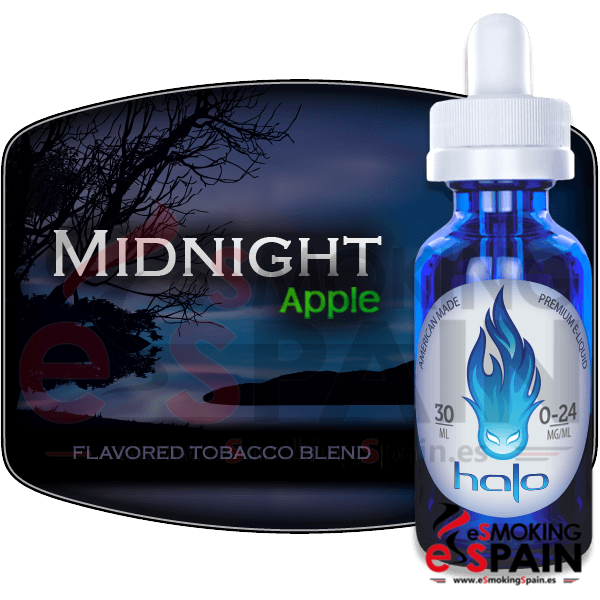 eLiquid HALO Midnight Apple 30ml 00mg