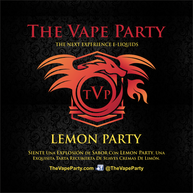 Liquido The Vape Party - Lemon Party