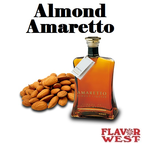 Aroma FLAVOR WEST Almond Amaretto 10ml (nº26)