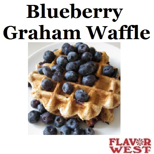 Aroma FLAVOR WEST Blueberry Graham Waffle 10ml (nº108)
