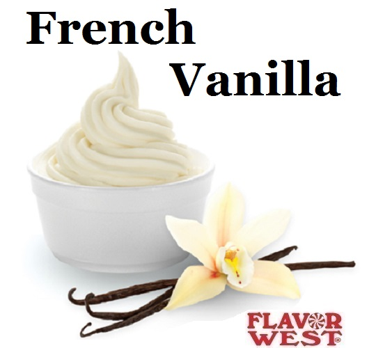 Aroma FLAVOR WEST French Vanilla 10ml (nº92)