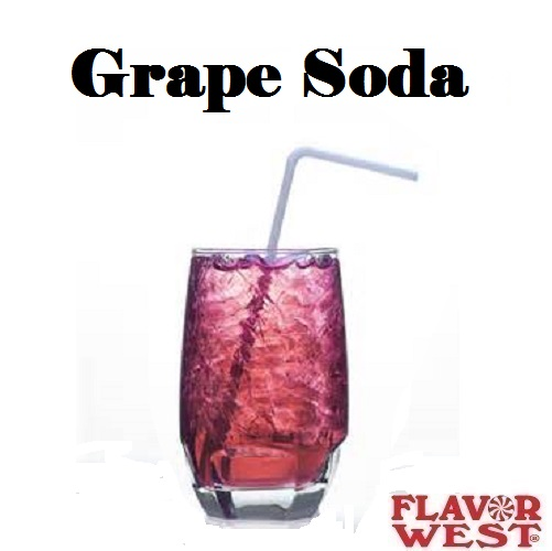 Aroma FLAVOR WEST Grape Soda 10ml (nº155)