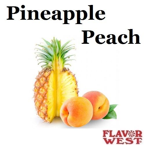 Aroma FLAVOR WEST Pineapple Peach 10ml (nº115)