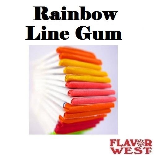 Aroma FLAVOR WEST Rainbow Line Gum 10ml (nº147)