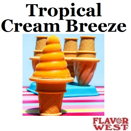 Aroma FLAVOR WEST Tropical Cream Breeze 10ml (nº82)