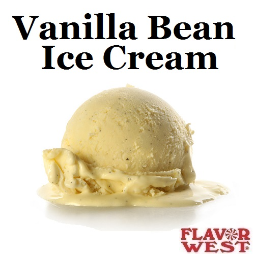 Aroma FLAVOR WEST Vanilla Bean Ice Cream 10ml (nº117)