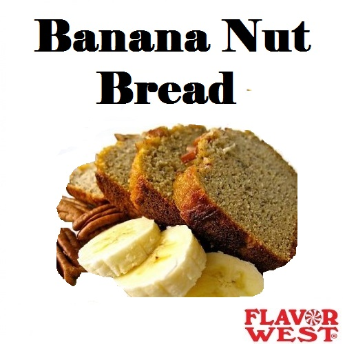 Aroma FLAVOR WEST Banana Nut Bread 10ml (nº44)